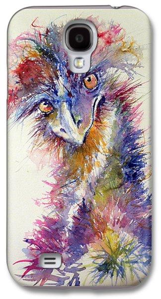 Ostrich Galaxy S4 Case - Ostrich by Kovacs Anna Brigitta