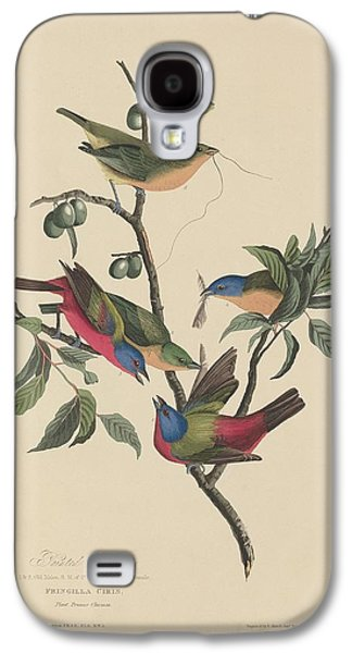 Painted Bunting Galaxy S4 Case by Anton Oreshkin