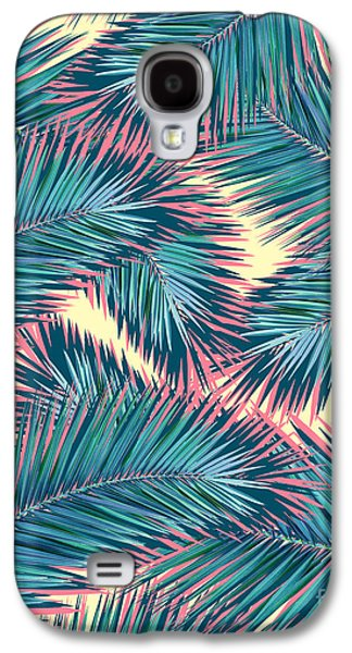 Palm Trees  Galaxy S4 Case by Mark Ashkenazi