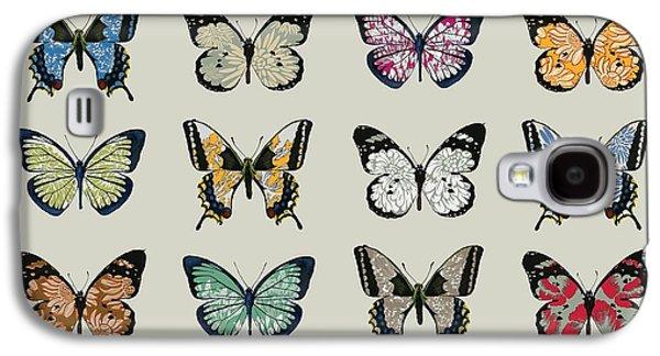 Papillon Galaxy S4 Case by Sarah Hough
