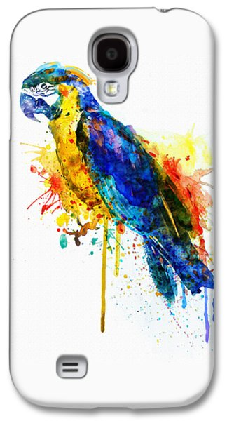Parrot Watercolor  Galaxy S4 Case