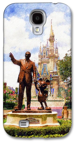 Mice Galaxy S4 Case - Partners by Sandy MacGowan