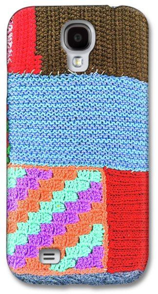 Patchwork Wool Galaxy S4 Case