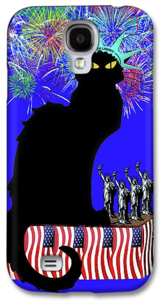 Patriotic Le Chat Noir Galaxy S4 Case by Gravityx9 Designs