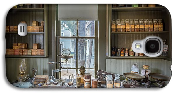 Pharmacist Desk Galaxy S4 Case by Inge Johnsson