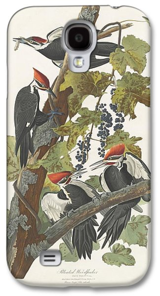 Pileated Woodpecker Galaxy S4 Case by John James Audubon