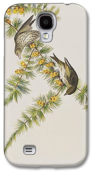 Pine Finch Galaxy S4 Case by John James Audubon