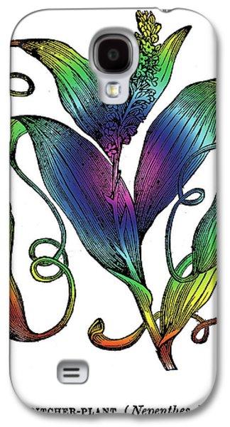 Pitcher Plant Galaxy S4 Case by Eric Edelman