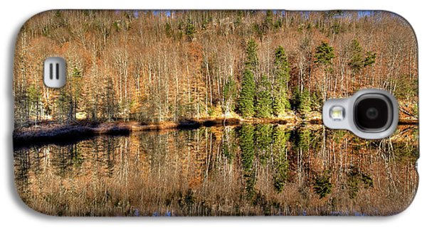 Galaxy S4 Case featuring the photograph Pond Reflections by David Patterson