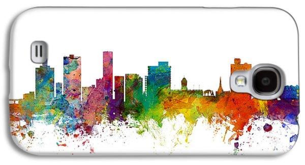Port Elizabeth South Africa Skyline Galaxy S4 Case