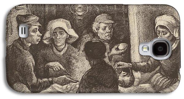 Potato Eaters, 1885 Galaxy S4 Case by Vincent Van Gogh