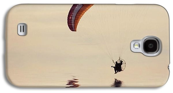 Amazing Galaxy S4 Case - Powered Paraglider by John Edwards