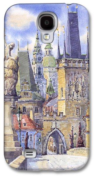 Prague Charles Bridge Galaxy S4 Case