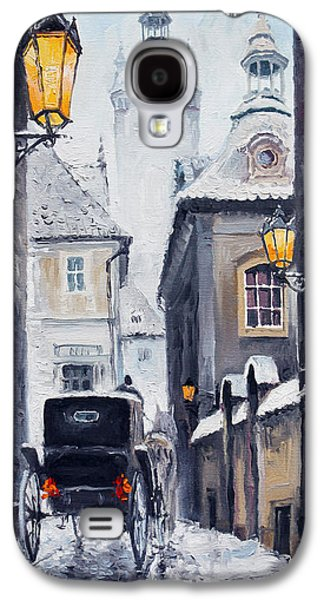 Prague Old Street 02 Galaxy S4 Case