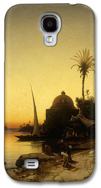 Praying To Mecca Galaxy S4 Case by Herman David Salomon Corrodi