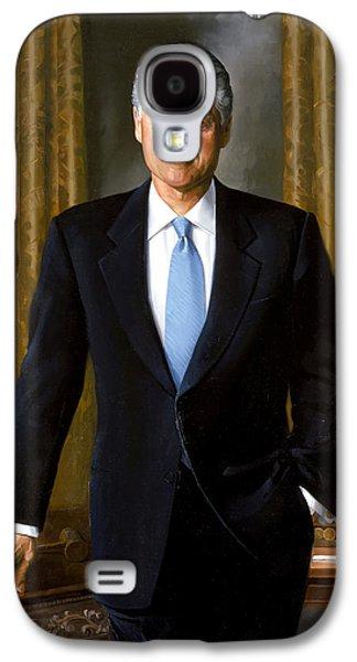 President Bill Clinton Galaxy S4 Case