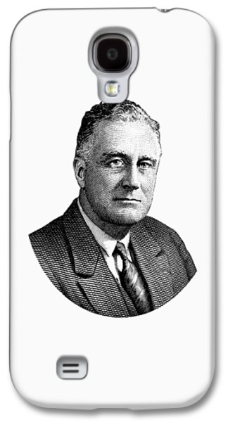President Franklin Roosevelt Graphic  Galaxy S4 Case by War Is Hell Store