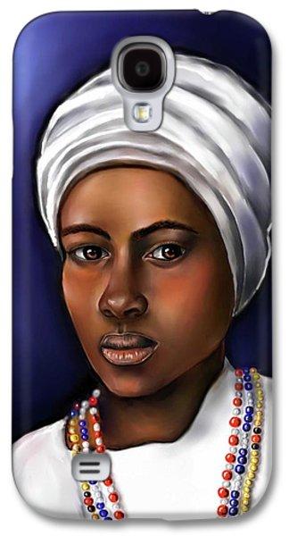 Priestess Of Santeria Galaxy S4 Case