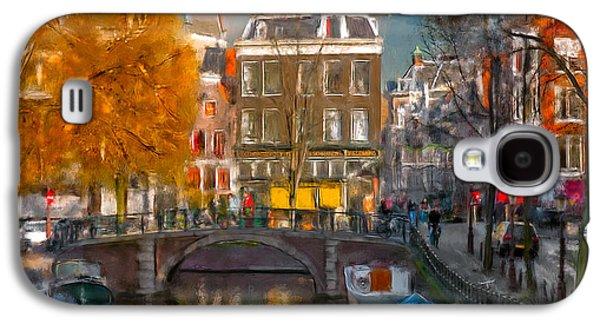 Prinsengracht 807. Amsterdam Galaxy S4 Case by Juan Carlos Ferro Duque