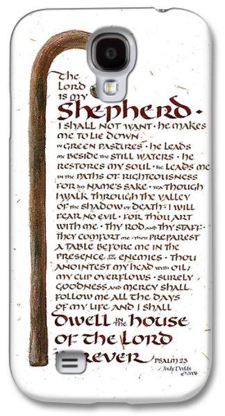 Psalm 23 Galaxy S4 Case by Judy Dodds
