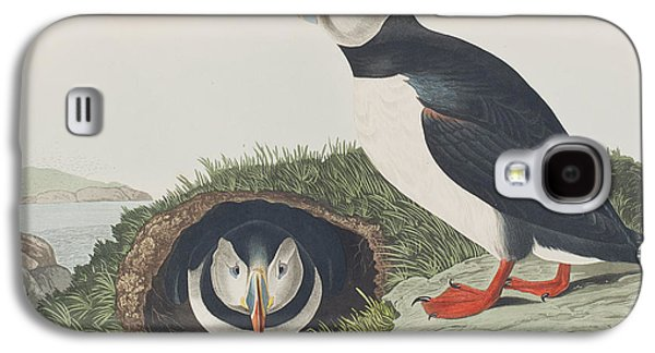 Puffin Galaxy S4 Case by John James Audubon