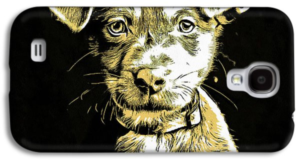 Puppy Dog Graphic Novel Drawing Galaxy S4 Case