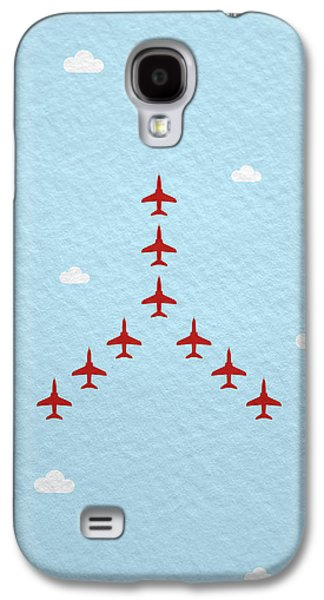 Jet Galaxy S4 Case - Raf Red Arrows In Formation by Samuel Whitton