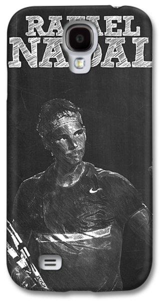 Rafael Nadal Galaxy S4 Case by Semih Yurdabak