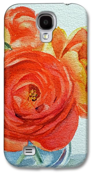 Ranunculus Galaxy S4 Case