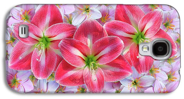 Red Amaryllis Galaxy S4 Case