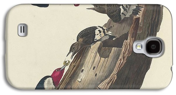 Red-headed Woodpecker Galaxy S4 Case by Rob Dreyer