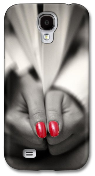 Red Is My Color Galaxy S4 Case