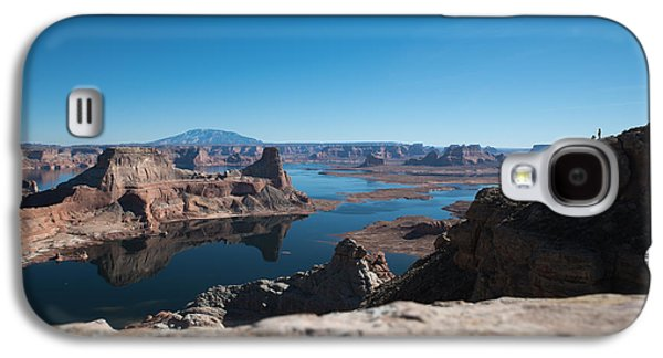 Red Rocks Drifting In Lake Powell Galaxy S4 Case