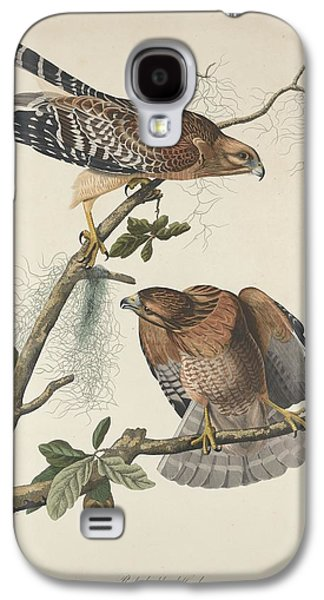 Red Shouldered Hawk Galaxy S4 Case by Dreyer Wildlife Print Collections