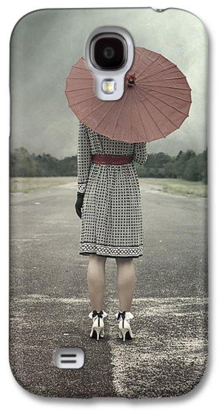 Red Umbrella Galaxy S4 Case by Joana Kruse
