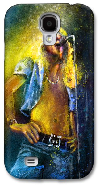 Robert Plant 01 Galaxy S4 Case by Miki De Goodaboom