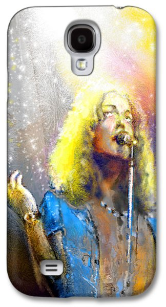 Robert Plant 02 Galaxy S4 Case by Miki De Goodaboom