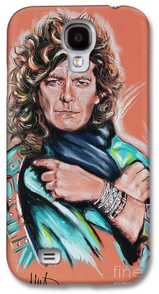 Robert Plant Galaxy S4 Case - Robert Plant by Melanie D