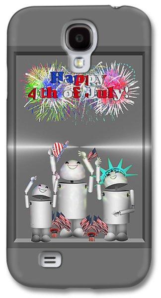 Robo-x9 Celebrates Freedom Galaxy S4 Case