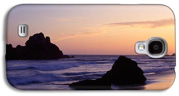 Rock Formations On The Beach, Pfeiffer Galaxy S4 Case by Panoramic Images