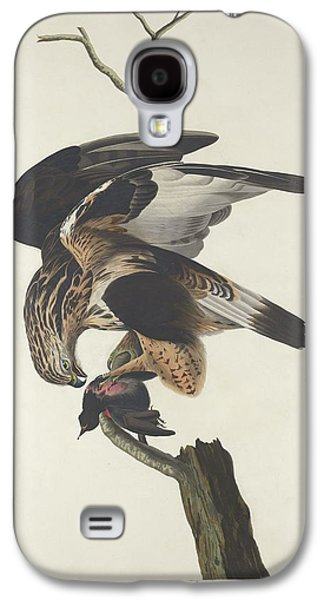 Rough Legged Falcon Galaxy S4 Case by Rob Dreyer