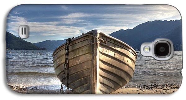 Rowing Boat On Lake Maggiore Galaxy S4 Case