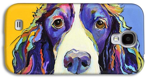 Dog Galaxy S4 Case - Sadie by Pat Saunders-White