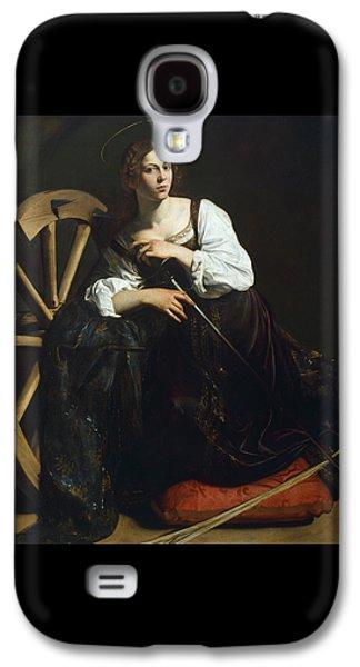 Saint Catherine Of Alexandria Galaxy S4 Case