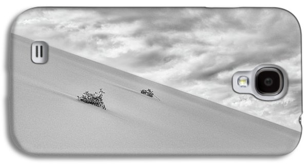 Galaxy S4 Case featuring the photograph Sand And Clouds by Hitendra SINKAR