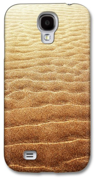 Sand Background Galaxy S4 Case by Carlos Caetano