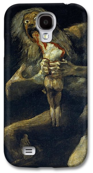 Saturn Devouring His Son Galaxy S4 Case by Francisco Goya