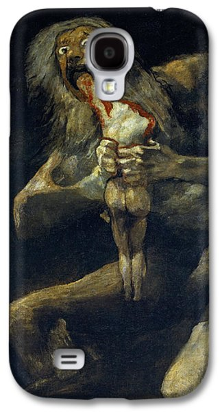 Saturn Devouring His Son Galaxy S4 Case by Francisco Goya
