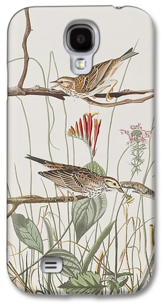 Savannah Finch Galaxy S4 Case by John James Audubon