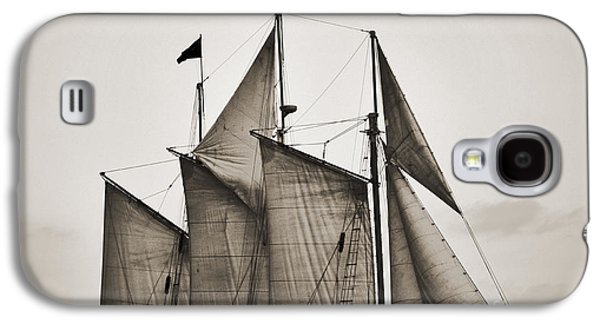 Schooner Pride Tall Ship Charleston Sc Galaxy S4 Case by Dustin K Ryan